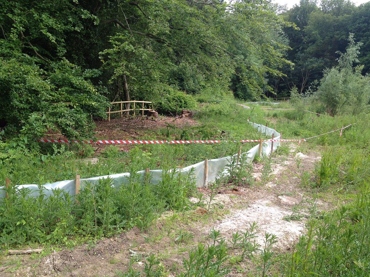Environmental fencing