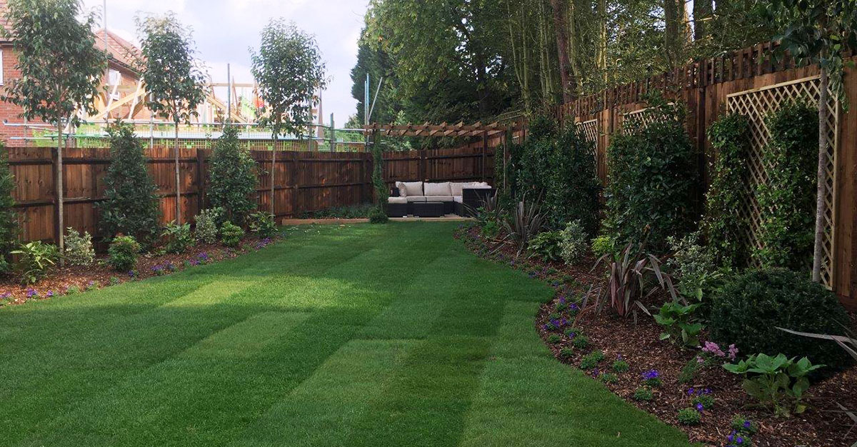 Garden design for residential and show home properties in for The garden design team newark