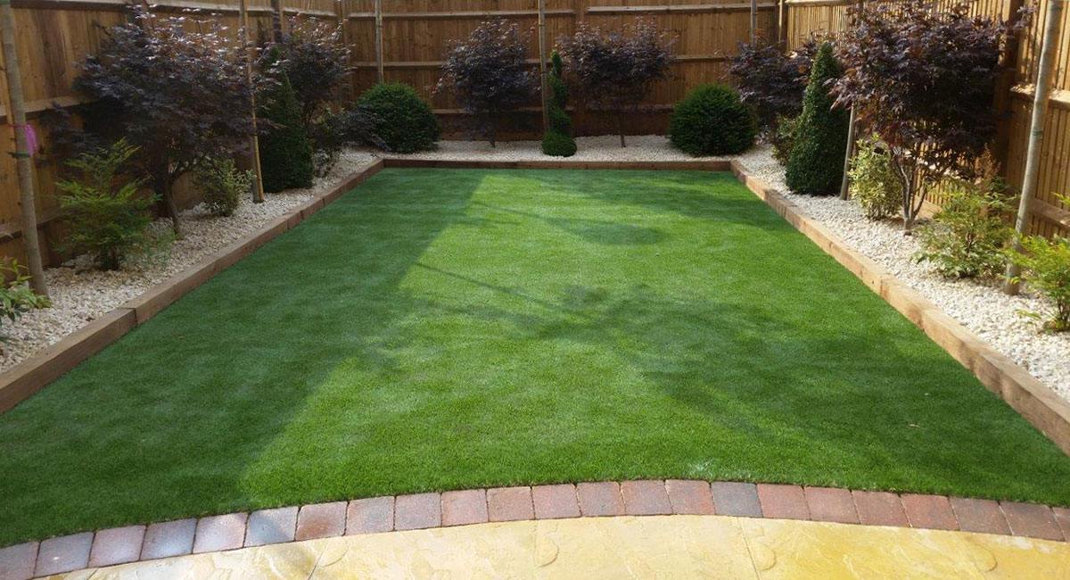 Merveilleux Rear Garden, Fencing And Patio Design